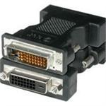 DVI adapter - M1-D (M) to DVI-D (F) - black - for ASK M2+; C 110, 160, 170, 410, 440, 450, 460; Hitachi CP-X1250; InFocus LP 120, 70
