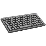 Ultraslim USB/PS2 Industrial Keyboard (Black, 83-Key, US Layout)