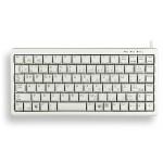 Slim Line G84-4100 - Keyboard - PS/2, USB - English - light gray