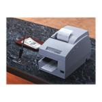 TM U675P - Receipt printer - dot-matrix - A5, Roll (3.25 in) - 17.8 cpi - 9 pin - up to 5.1 lines/sec - parallel - cool white