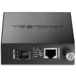 TRENDnet Intelligent 1000Base-T to 1000Base-FX Single/Multi Mode RJ-45 Fiber Converter TFC-1000MGB