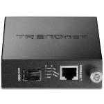 Intelligent 1000Base-T to SFP Media Converter