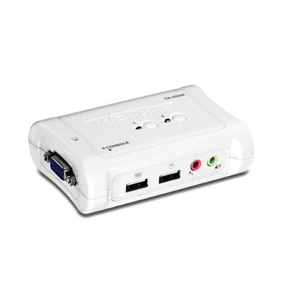 TRENDnet2-Port USB KVM Switch Kit with Audio(TK-209K)