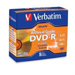 Verbatim UltraLife Gold Archival Grade - 5 x DVD-R - 4.7 GB ( 120min ) 8x - jewel case 96320