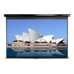 Manual Series M85UWS1 - Projection screen - 85 in (85 in) - 1:1 - Matte White