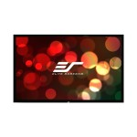 ezFrame Series R100WH1 - Projection screen - 100 in ( 254 cm ) - 16:9 - Tension Matte White
