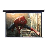 "125"" Spectrum MaxWhite Projector Screen - Black"