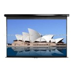"113"" Manual Pull-down Projector Screen"