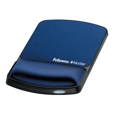 Fellowes Mouse Pad / Wrist Support with Microban Protection (9175401)