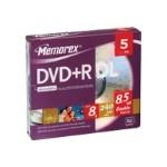 5 x DVD+R DL - 8.5 GB (240min) 8x