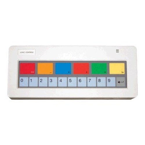 Logic Controls KB1700 PROGRAMMABLE KEYPAD (17-KEY, WEDGE INTERFACE, PS-2 CABLES AND LEGEND SHEET A - IBM