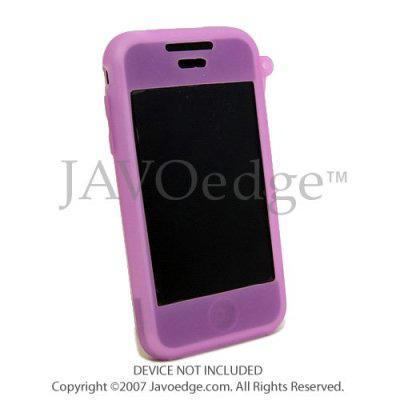 JAVOedge JAVOSkin Case - Skin Case for iPhone 4GB/8GB - Purple Color (PSKN-71188-C19)
