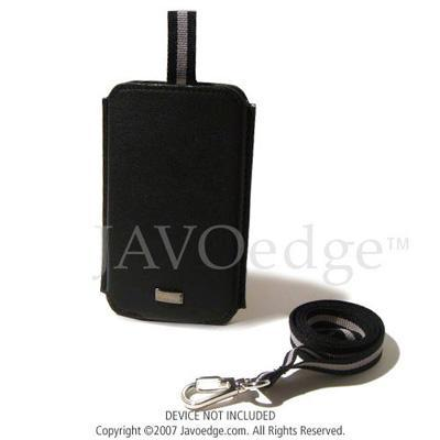 JAVOedgePull Out Leather Case for Apple iPod Classic 80GB - Black(PLEA-91146-C01)