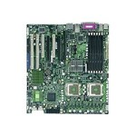 SUPERMICRO X7DCA-3 - Motherboard - extended ATX - LGA771 Socket - 2 CPUs supported - i5100 - 2 x Gigabit LAN - HD Audio (8-channel)