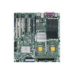 SUPERMICRO X7DWA-N - Motherboard - extended ATX - LGA771 Socket - 2 CPUs supported - i5400 - 2 x Gigabit LAN - HD Audio (8-channel)