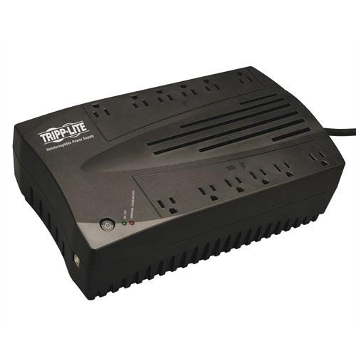 TrippLite 900VA 480W UPS Desktop Battery Back Up AVR Compact 120V USB RJ11