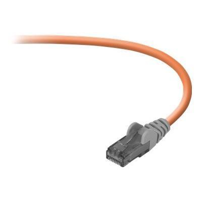 Belkin FastCAT crossover cable - 20 ft - orange (A3X189-20-ORG-S)