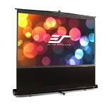 "60"" ezCinema Portable Floor Stand Telescoping Pull Up Projection Screen"