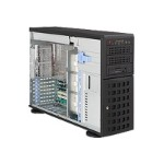 "Supermicro SuperServer 7045W-NTR+B - Server - tower - 4U - 2-way - RAM 0 MB - SATA - hot-swap 3.5"" - no HDD - ATI ES1000 - GigE - monitor: none"