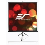 "Tripod Series T136NWS1 - Projection screen with tripod - 136"" (135.8 in) - 1:1 - MaxWhite - white"