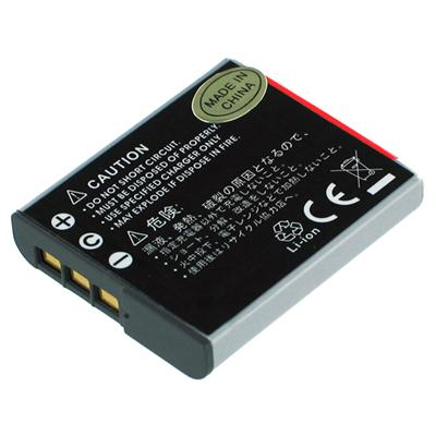 Battery Biz 3.6 Volt Li-Ion High-Capacity Digital Camera Battery - Grey (B-9714)