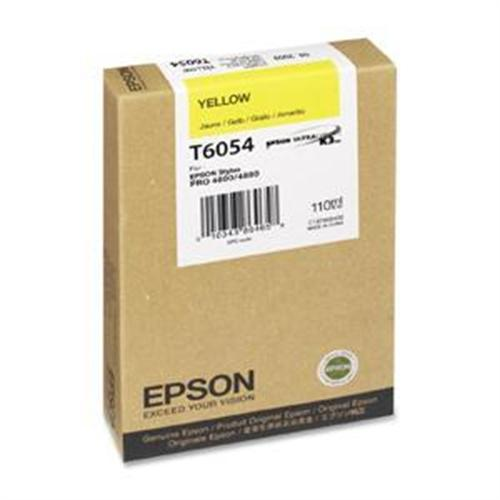 Epson 110ml Yellow UltraChrome Ink Cartridge for Stylus Pro 4880