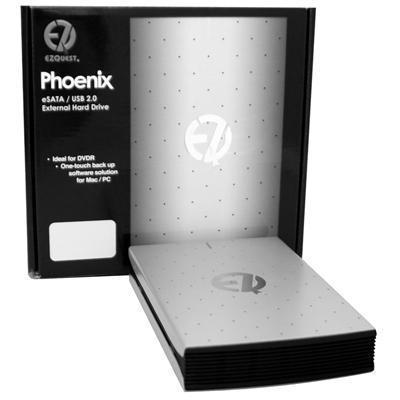 EzquestPhoenix 160GB eSATA II/High-Speed USB 2.0 External Hard Drive(B16208)