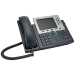 Unified IP Phone 7965G - VoIP phone - SCCP, SIP - 6-line operation - silver, dark gray