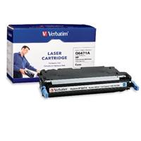 Verbatim HP Q6471A Cyan Remanufactured Laser Toner Cartridge 95540