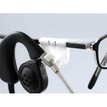 Plantronics Eyeglass clip kit - black, white 40700-01
