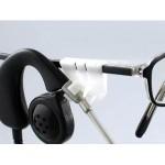 Eyeglass clip kit - black, white