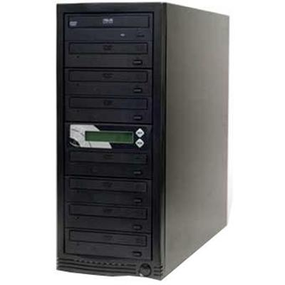 SmarrCopy 7 Targets 128MB 18X CD/DVD Duplicator with 160G Hard Disk Drive/USB 2.0 - Black (SMA7160UK)