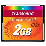 Flash memory card - 2 GB - 133x - CompactFlash