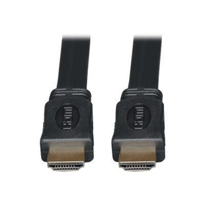 TrippLite High Speed HDMI Flat Cable Digital Video with Audio - video / audio cable - HDMI - 6 ft (P568-006-FL)