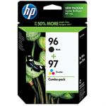 HP 96/97 Combo-pack Inkjet Print Cartridges C9353FN#140