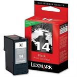 No 14 Return Prog Print Cartridge - Black