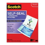 Self-Sealing Laminating Pouches Gloss Finish 9 in x 11.5 in 25/pack