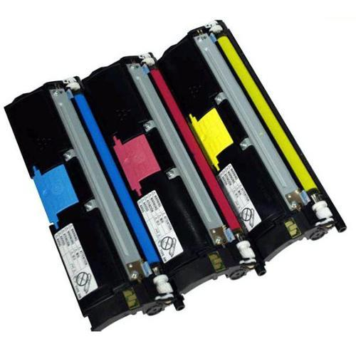 Konica Minolta High Capacity Yellow, Cyan, Magenta Toner Value Kit (120V) - 12,000 pages