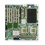 SUPERMICRO X7DBE-X - Motherboard - extended ATX - LGA771 Socket - 2 CPUs supported - i5000P - 2 x Gigabit LAN - onboard graphics