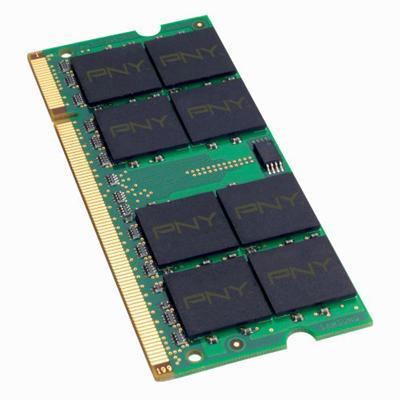 PNY2GB PC2-5300 667MHz DDR2 SDRAM SODIMM 200-pin Memory Module(MN2048SD2-667)