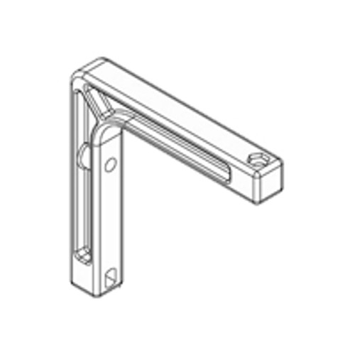 Draper, INC. Non-Adjustable Wall Bracket - mounting component