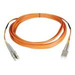 23ft (7m) Duplex Multimode Fiber Optic 50/125 Patch Cable - LC/LC