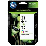 21/22 Combo-pack Inkjet Print Cartridges