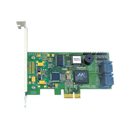 High Point Technologies RocketRAID 2300 4-Port PCI-Express x1 Internal RAID Controller