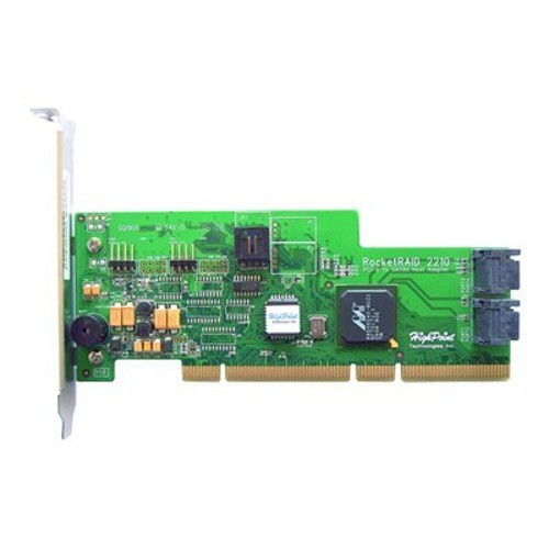High Point Technologies RocketRAID 2210 4-Channels PCI-X to SATA II 133MHz Host Adapter