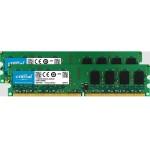 4GB kit (2GBx2), 240-pin DIMM, DDR2 PC2-6400 Memory Module