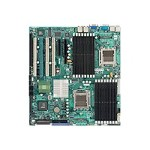 SUPERMICRO H8DM8-2 - Motherboard - extended ATX - Socket F - 2 CPUs supported - nForce Pro 3600 - 2 x Gigabit LAN - onboard graphics