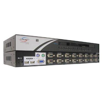 Linkskey16-Port Rackmount USB PS/2 KVM Switch(LKV-7316)
