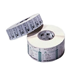 Z-Select 4000T All-Temp - Labels - paper - ultra-smooth - permanent acrylic adhesive - coated - bright white - 4 in x 2.5 in 8880 label(s) (4 roll(s) x 2220) - for Z4Mplus, Z6MPlus, ZM400, ZM600; Xi Series 110, 140, 170, 220; Z Series ZM400, ZM600