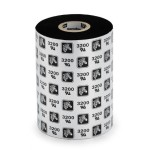 "3200 Performance 2.24"" x 244' Black Wax-Resin Thermal Transfer Ribbon"
